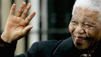 south africa's first black president nelson mandela remembered five years on