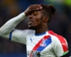 brighton fan arrested for throwing missile at crystal palace star zaha in m23 derby