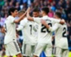 Real Madrid 6 Melilla 1 (10-1 agg): Asensio and Isco at the double