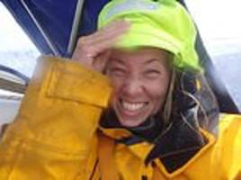 british yachtswoman 'clinging on' in her bunk as she waits for rescue in the southern ocean