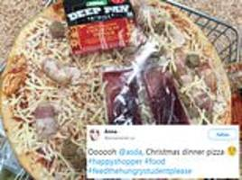 Foodies divided over Asda's Christmas dinner pizza with some labeling it as 'disgusting'