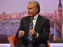 Tony Blair says Theresa May should pull next week's crunch Brexit vote