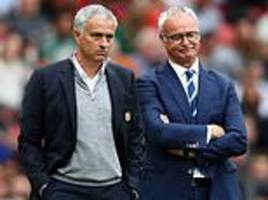 Claudio Ranieri says Jose Mourinho was the first to welcome him back to England