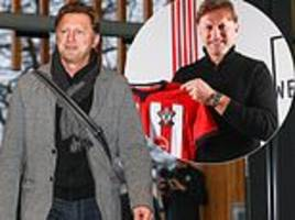 'it want to get my name known': new southampton boss ralph hasenhuttl