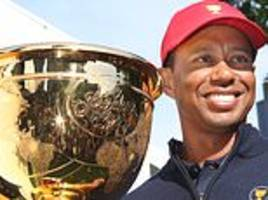 tiger woods leaving nothing to chance in presidents cup preparation