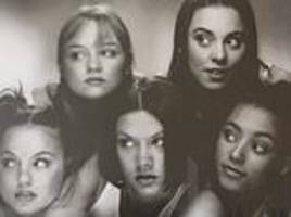 Geri Horner posts throwback to Spice Girls' FIRST EVER photo shoot (which she 'had to drag them to')