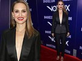 Natalie Portman arrives at Vox Lux premiere after apologising to Jessica Simpson