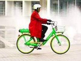 A fleet of bikes with electric motors and max speed of 15mph will be available to rent in London