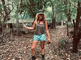 i slept in the jungle - and survived! what it's like sleeping among ants and spiders in a hammock