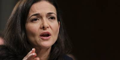 facebook's board backs coo sheryl sandberg over her calls to investigate george soros (fb)