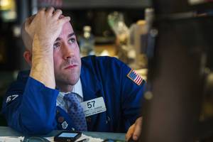 Dow dives nearly 500 points, wiping out its gains for the year