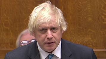 Boris Johnson apologises to MPs for failing to declare £52,000 in time
