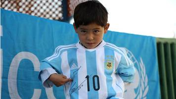 afghanistan's 'little messi' flees home after taliban threats, says family