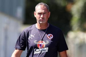 former derby county manager paul clement sacked by reading