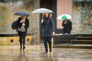 flooding 'likely' as met office weather warning for rain issued near bristol