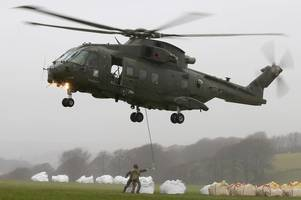 Here's why huge military helicopters were flying over North Devon yesterday
