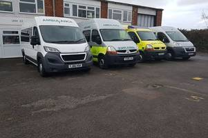 Dozens face Christmas without work as Rapid Response Ambulance Service used by the NHS goes into administration