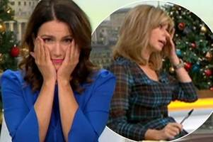 good morning britain hosts in tears as they open up on devastating effects of grief