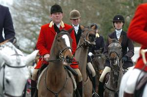 surrey union hunt removes hunt listing at national trust site polesden lacey estate