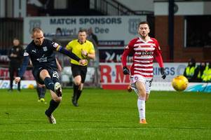 kenny miller credits dundee boss jim mcintyre's tactical tinkering for getting him back scoring
