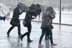 met office issues new severe weather warning as wales is set for more heavy downpours