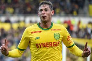 cardiff city boss neil warnock watches £25million nantes striker emiliano sala — reports