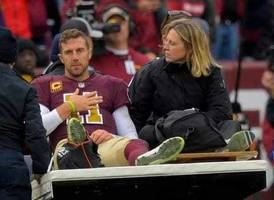 concerns grow about alex smith's recovery as he deals with an infection following 'serious' leg injury