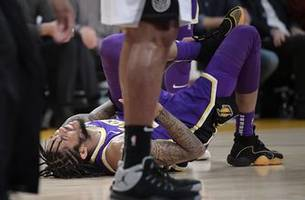 Brandon Ingram skips Lakers' 2-game trip with sprained ankle