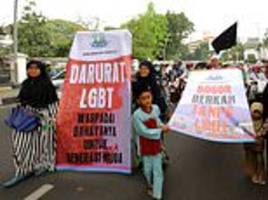 Islamic exorcisms performed on Indonesian TV to 'cleanse' LGBT people