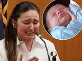 manhattan nanny charged with choking baby with a wipe testifies