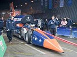 project to create 1,000mph bloodhound supersonic car scrapped