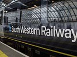 rail chaos before christmas as south western railway workers announce walkout on december 22