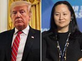 trump and trudeau were unaware of plans to arrest top huawei official