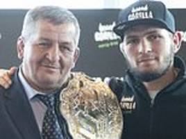 khabib nurmagomedov's father claims son will be free to fight floyd mayweather from may 4