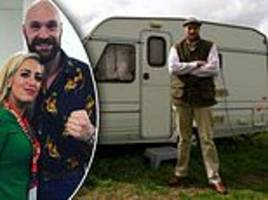 the two sides of tyson fury: from shopping at the local spar to serving a drugs ban