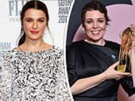 britain's golden girls! olivia colman and rachel weisz bag golden globe nominations