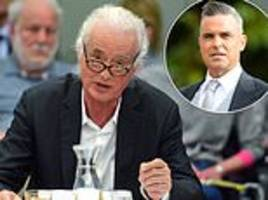 robbie williams ignores led zepplin legend jimmy page's olive branch after five-year row