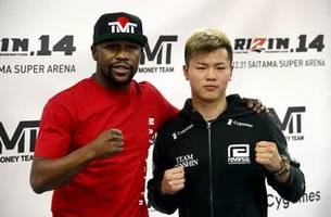 Mayweather says he will hold exhibition with Japanese star