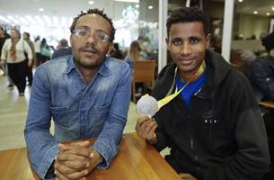 Ethiopia's top Paralympian now living as refugee in Brazil