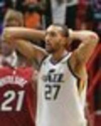 nba star rudy gobert meltdown: utah jazz baller ejected from game after just three minutes