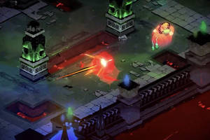 hades is a new game from the makers of pyre and transistor, and it's out now for free