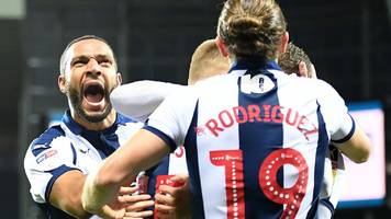 west brom 2-2 aston villa: jay rodriguez earns baggies stoppage-time draw
