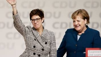 CDU Elects German Chancellor Merkel's Replacement