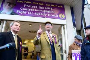 Former Ukip leader Paul Nuttall - who stood in the Stoke-on-Trent Central by-election - quits party over Tommy Robinson job
