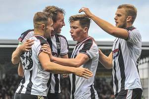 pick your grimsby town team to take on cheltenham town in league two return