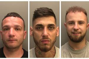 named, shamed, jailed for 30 years - the 3 men who terrified women in armed raids on starbucks and co-op
