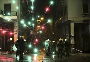 riots break out in athens on 10th anniversary of grigoropoulos police shooting