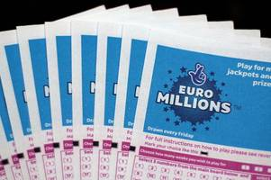 national lottery euromillions results: your winning numbers for friday 7 december