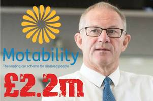 taxpayer-supported motability boss quits after outrage over £2.2million bonus