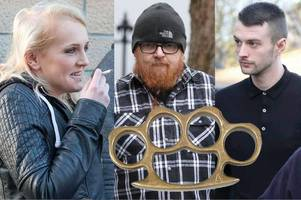 thug family abduct, batter and burn ex-partner and new lover in revenge attack